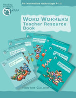 Word Workers: Teacher Resource Book : Teachers Resource Book - Hunter Calder