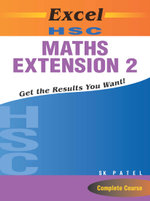 Excel Hsc Maths  : Extension 2 - Excel