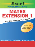 Excel Preliminary Maths Extension 1 - J. et al Compton