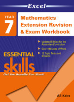 Mathematics Revision And Exam Workbook 2 : Extension : Excel Essential Skills : Year 7 (2013 Edition) - Excel