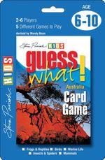 Guess What! Australia Card Game - Steve Parish
