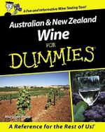 Australian And New Zealand Wine For Dummies - Maryann Egan