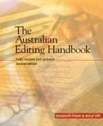 The Australian Editing Handbook : 2nd Edition - Elizabeth Flann