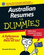 Australian Resumes For Dummies - Amanda McCarthy