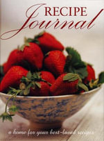 Recipe Journal - No Author Provided
