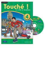 Touche ! 4 : Student Book and CD-ROM Pack - Judy Comley