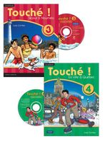 Touche ! 3 & 4 : Student Book and CD-ROM Year Pack - Pearson Education Australia