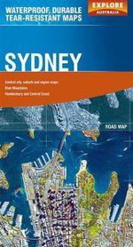 Explore Australia Polyart Road Map : Sydney - Explore Australia
