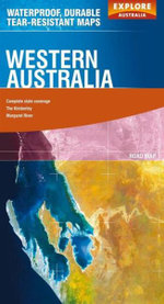 Explore Australia Polyart Road Map : Western Australia - Explore Australia