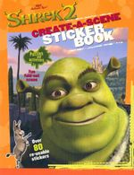 Shrek 2 Create-a-Scene Sticker Activity Book