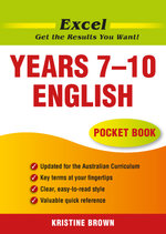Excel English Pocket Book : Years 7-10 - Kristine Brown