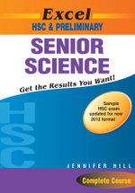 Senior Science Year 11-12 : Excel Study Guides - Jennifer Hill