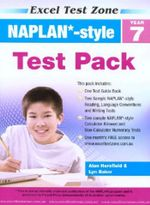 NAPLAN-style Test Pack - Year 7 : Excel Test Zone   - Alan Horsfield
