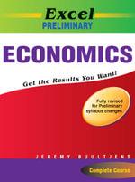 Excel Preliminary Economics Year 11 - Jeremy Buultjens