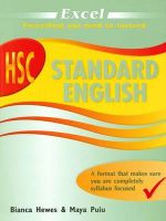 HSC Standard English Year 12 - Maya Puiu
