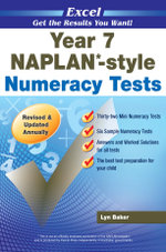 Excel NAPLAN-style Numeracy Tests : Year 7 - Excel