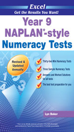 Excel NAPLAN-style Numeracy Test  : Year 9 - Excel