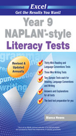 Excel NAPLAN-style Literacy Tests : Year 9 - Excel