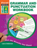 Excel Advanced Skills Grammar and Punctuation Workbook Year 4 - Laura Anderson