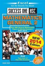 Excel Success One- Mathematics General 2 2014 Edition : Success One General Mathematics 2 - Excel