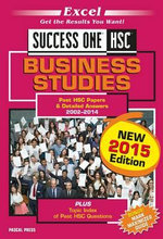 Excel Success One HSC Business Studies : New 2015 Edition - 2015 Edit