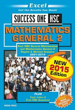 Excel Success One HSC General Mathematics 2 : New 2015 Edition - 2015 Edit