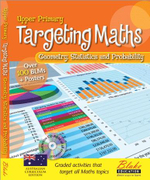 Targeting Maths : Geometry, Statistics and Probability : Upper Primary : New Edition - Leonie Marshman