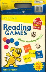 Helping Kids At Home - Level 2 : Moving On : Learning Through Games - Boost Reading Skills - Word Cards Inside - Jenny Feely
