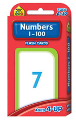 Numbers 1-100 : Flash Cards