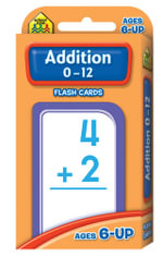 Addition 0-12 : Flash Cards