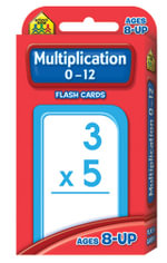 Multiplication 0-12 : Flash Cards