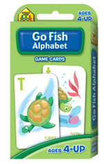 Go Fish : Alphabet Game Cards