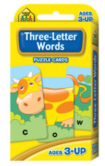 Three-letter Words : Puzzle Cards