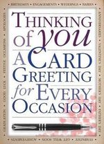 Thinking of You : A Card Greeting for Every Occasion - Hinkler Books Staff