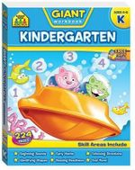 School Zone Giant Workbooks : Kindergarten - Hinkler Books Staff