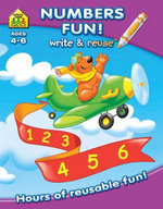 Numbers Fun : School Zone Write and Re-Use Ser. - Hinkler Books Staff