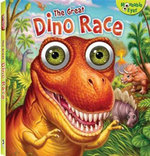 The Great Dino Race : Moveable Eyes - Hinkler Books Staff