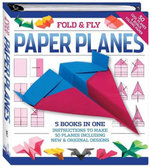 Fold and Play Paper Planes : Binder