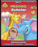 Preschool Scholar : Ages 3 - 5 : School Zone - Joan Hoffman