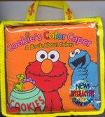 Sesame Workshop Cloth Book : Cookie Colour Caper