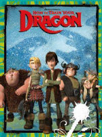 How to Train Your Dragon Deluxe Colouring Book - The Five Mile Press