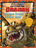 How to Train Your Dragon Create-a-Scene Sticker Book - The Five Mile Press