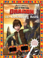 How to Train Your Dragon 3D Colouring Book - The Five Mile Press