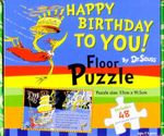 Dr Seuss Happy Birthday to You! Floor Puzzle - Dr Seuss