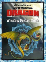 How to Train Your Dragon Window Poster Book - The Five Mile Press