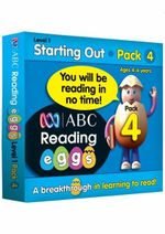 ABC Reading Eggs Pack 4 : Level 1 Starting Out - Katy Pike