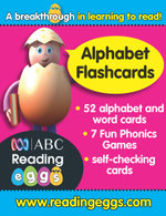 Alphabet Flashcards : ABC - Reading Eggs - Katy Pike