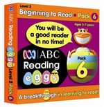 ABC Reading Eggs Beginning to Read Book Pack 6 : Level 2 - Katy Pike