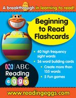 ABC Reading Eggs Beginning to Read Flashcards - Katy Pike