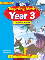 NSW Targeting Maths Year 3 : Teaching Guide - Australian Curriculum Edition - NEW EDITION